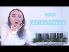 DIY Adventkranz   xmaswithsandy - YouTube Advent, Interior, Youtube, Crown Cake, Indoor, Interiors, Youtubers, Youtube Movies