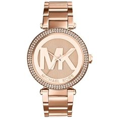 Womens Michael Kors Parker Logo Dial Bracelet Watch, 39Mm (14.585 RUB) ❤ liked on Polyvore featuring jewelry, watches, accessories, bracelets, michael kors, rose gold, polish jewelry, round watches, rose gold watches and rose gold bracelet watch