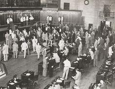 Historical photo-trading floor