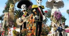 Parade floats, Day of the dead
