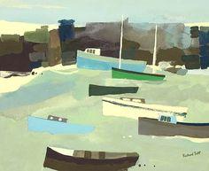 Richard Tuff, Winter Boats #art #boats