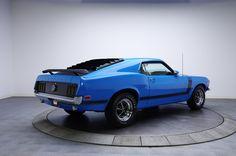 1970 Grabber Blue Ford Mustang Boss 302 V8 | Gear X Head