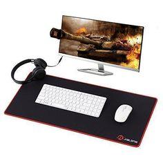 Oferta: 10.99€ Dto: -54%. Comprar Ofertas de JIALONG Alfombrilla de Ratón para Gaming Extra Grande Ordenador de Sobremesa Mouse Pad 700x300x3mm para teclado y raton (rojo barato. ¡Mira las ofertas!