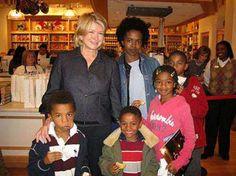 Lauryn Hill Meets Martha Stewart. Amazing.