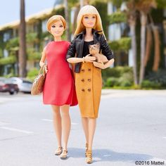 Getting carried away with Ms. Honey!  #barbie #barbiestyle