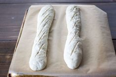 This classic French baguette recipe breaks down the step-by-step process to achieve artisan homemade baguettes! This recipe produces authentic French baguettes with a crusty outside and a fluffy, chewy inside. Pin it for Later French Baguette Recipe, Baking Courses, Baking School, No Knead Bread, Italian Bread, Home Chef, Artisan Bread, Bread Recipes, Homemade
