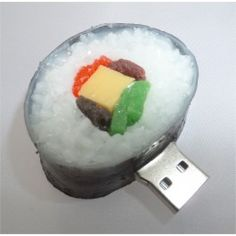USB-stick sushi (16GB) Usb Drive, Usb Flash Drive, Sticks, Sushi, Creativity, Tech, Amazing, Technology, Craft Sticks
