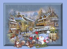 Image result for white christmas animated gif 870 x 652