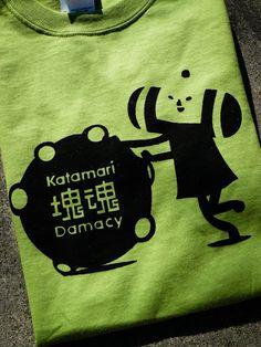 Katamari Damacy Inspired Screenprinted TShirt by mosaicshirts, $14.00    I need this desperately.