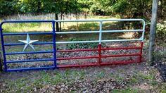 Farm Gate, Farm Fence, Legends Ranch, Cattle Gate, Texas Farm, Country Fences, Farm Plans, Flag Painting, Ranch Decor