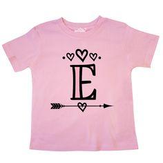 inktastic Letter L Monogram Tribal Arrow Toddler T-Shirt