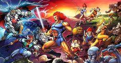 ThunderCats Colors, in Eric Ninaltowski's Artwork Comic Art Gallery Room Best 80s Cartoons, Classic Cartoons, Animated Cartoons, Cartoon Network, Thundercats 1985, Tv Theme Songs, Comic Art Community, Marvel E Dc, Marvel Comics