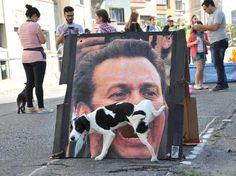 kassab, prefeito de SP, recebe apoio popular. In Mexico this will be a Enrique Peña Nieto Photo.