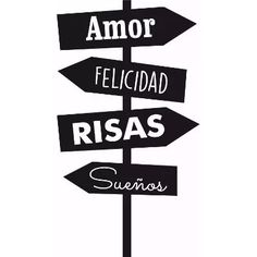 Spanish Quotes, Wall Signs, Easy Drawings, Positive Vibes, Silhouette Cameo, Stencils, Clip Art, Positivity, Mood