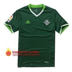 Segunda camiseta Tailandia del Real Betis 2016 2017