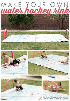 There are some absolutely great DIY Backyard Games you can set up for the whole family to enjoy. Fight summer boredom with these awesome ideas.