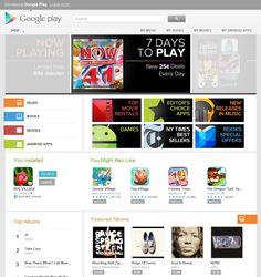 Google Play: musica, film, libri, giochi ed applicazioni in un'unica piattaforma