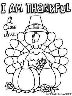 I Am Thankful! - A Class Book