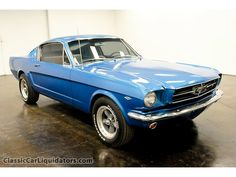 Ford : Mustang 1965 Ford Mustang Fastback 289 Auto - http://www.legendaryfinds.com/ford-mustang-1965-ford-mustang-fastback-289-auto/