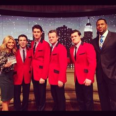 The Jersey Boys performed a new song from their Christmas CD on #KellyandMichael | Check out their performance here: http://www.dadt.com/live/special/holiday/12/?bclid=1992693888001=2008373521001