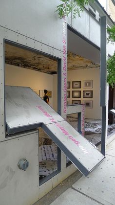 Aesthetics/Anesthetics, installation view at the Storefront for Art & Architecture, New York