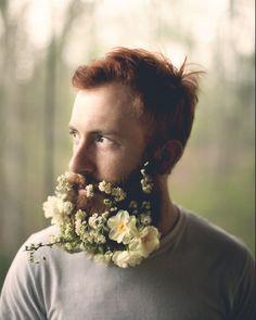 wedding beard!  Haaahahahahaha!  it's so funny...