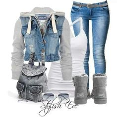 LOVE THE OUTFIT!!!!!!!!!! Wish that it had a pair of converses instead but l love the outfit