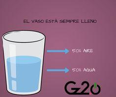 GzActitud: Al final, el vaso está siempre lleno