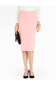 Talbots - Italian Flannel Pencil Skirt | Skirts | Misses