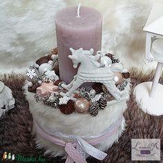 My Works, Pillar Candles, Tea Lights, Christmas, Xmas, Tea Light Candles, Navidad, Noel, Natal