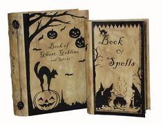 http://www.christmastraditions.com/Themes/HWeen/VintHall/VinHal.htm