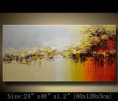Abstract Large ORIGINAL Painting Modern Textured Painting