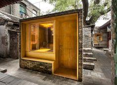 Centre d'Art et Bibliothèque pour Enfants Micro Yuan'er – Pékin, Chine  Ce projet à petite échelle resserre les liens de la communauté et régénère la vie du hutong.