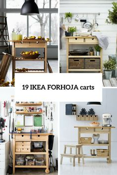 19 IKEA FÖRHÖJA Cart Ideas For Every Home | DigsDigs