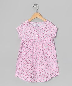 Take a look at this Pink Butterfly Nightgown - Toddler & Girls by Cozytime on #zulily today!