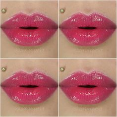 @avonmaquiagem Ultra Color Gloss Labial Framboesa #swatches #lipgloss #avonmaquiagem #avon #maquiagemavon