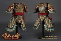 Chinese Armor, Monkey King! Inflames Toys X Newsoul Toys - 1/6 The Monkey King…