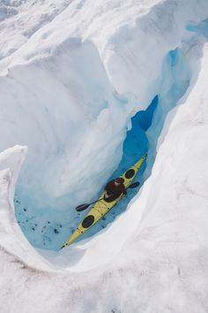 Extreme kayaking in the Knik Glacier, Alaska USA Kayak Tours, Alaska Travel, Alaska Usa, All Nature, Kayak Fishing, Sea Kayak, Alaska Fishing, Winter Travel, Rafting