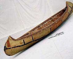 birch bark canoe | The Ojibwe People's Dictionary