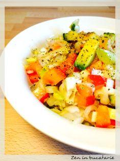 Salata de andive si avocado Avocado, Cantaloupe, Cooking, Recipes, Food, Salads, Kitchen, Lawyer, Recipies