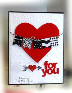 Hearts framelits, Me, My Stamps and I, Stampin' Up, Valentine's
