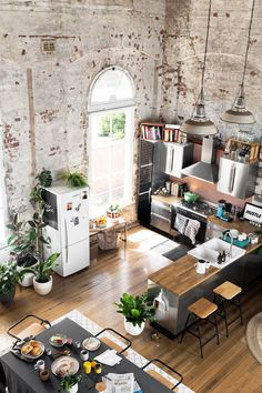 Hunting For George To Showcase Their Latest Collection Of Homewares,  Welcome Home, They Transformed This Spectacular Heritage Listed Warehouse  Apartment, ...