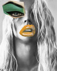 Acne Studios collage homepage 4 Jan 2015 - beauty inspiration for GLOWLIKEAMOFO.com