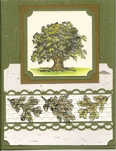 Solid As An Oak by bizzyoma44 - Cards and Paper Crafts at Splitcoaststampers