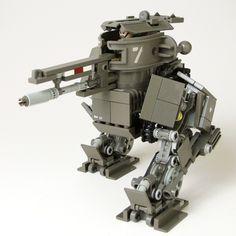 Lego Dieselpunk Mech
