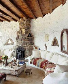 { e pássaros mil } Chez #VillaDrakothea, Mykonos