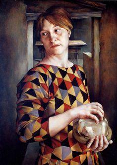 Self-portrait (1995), Laura Van Den Hengel