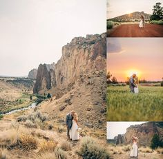 Ranch at the Canyons Wedding: Maxwell Monty Desert Wedding Oregon Bride