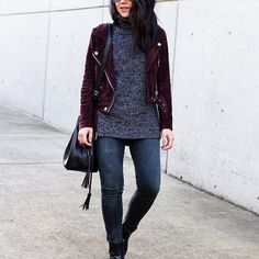 Regram! Major biker-babe vibes in your Stitch Fix suede moto jacket, @hey_im_kate. Tag your #OOTD's with #StitchFix for a chance to be featured.