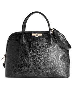 DKNY Handbag, French Grain Dome Satchel - Handbags & Accessories - Macy's